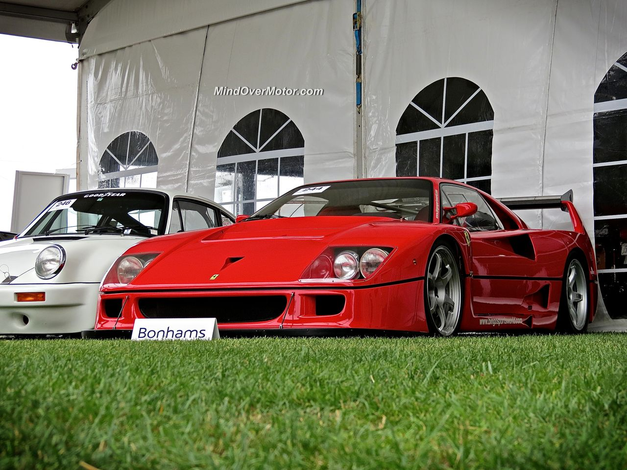 Ferrari F40 LM at Bonhams Auction in Monterey