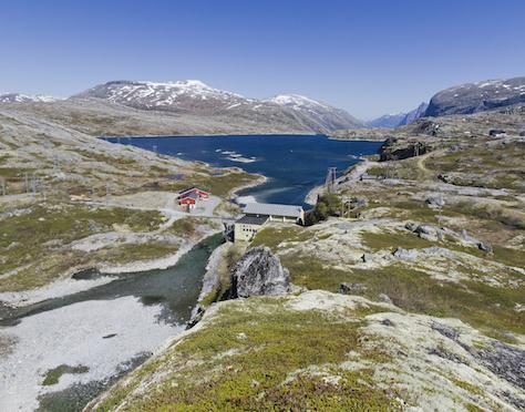 Hydropower Site Norway