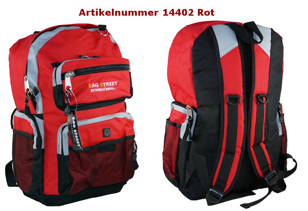 Rucksack 14402 Rot