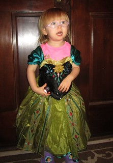 Kaitlyn as Anna in Frozen