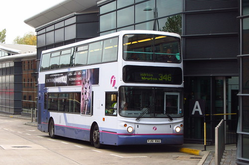 First Greater Manchester Volvo B7TL, YJ51 RAU, Hyde Bus Station
