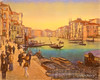 Digital Pastel Drawing of the Grand Canal by Charles W. Bailey, Jr.
