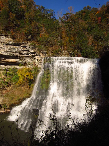 Burgess Falls in Autumn #2