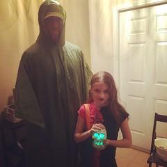 #Unbreakable and his offspring, the menacing #HalfTwin #Halloween #Halloween2014 #twitter
