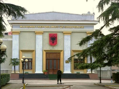 Tirana, Parliament building