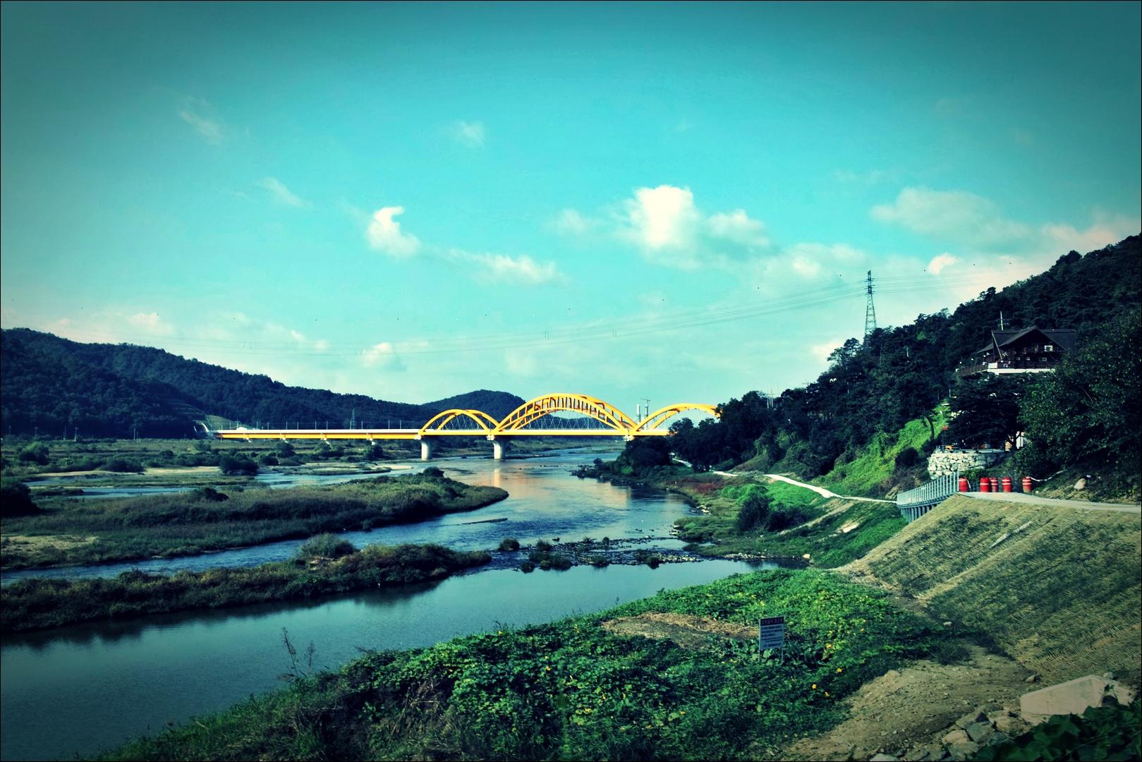 가을-'금강 자전거 캠핑 종주'
