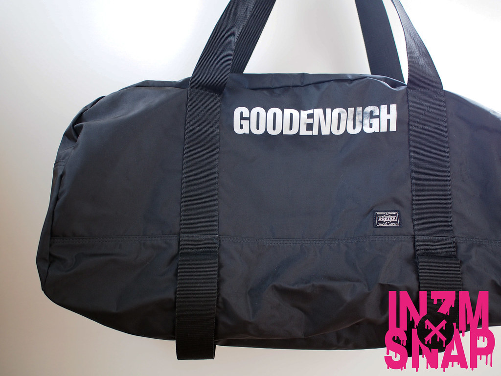 GOODENOUGH × PORTER | Boston Bag