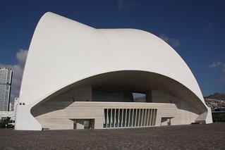 Image of Auditorio de Tenerife near Santa Cruz de Tenerife.