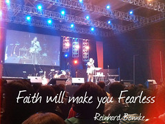 Faith will make you Fearless -Reinhard Bonnke