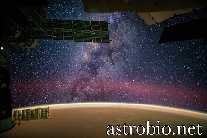Milky Way View From Space Station