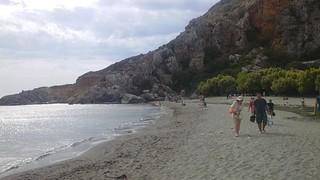 Image de Sfakaki Beach (Παραλία Σφακάκι) Plage d'une longueur de 759 mètres.