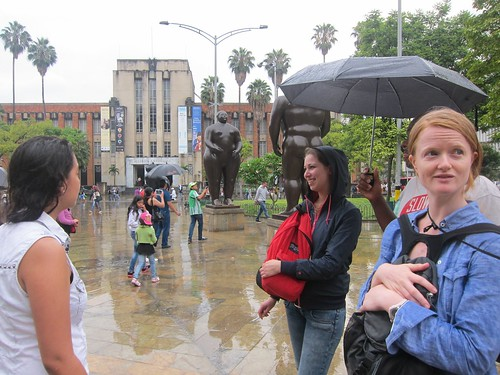 Botero statues plaza