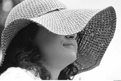 La femme au chapeau - The lady with a hat