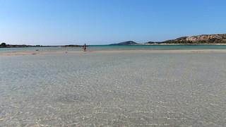 Image de Elafonisi Beach (Παραλία Ελαφονησίου) Plage d'une longueur de 346 mètres.