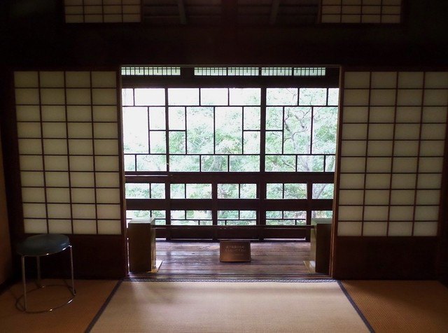 View from inside the House of Korekiyo Takahashi 2