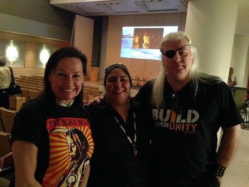 Neeta Lind aka navajo, Corrina Gould & Meteor Blades