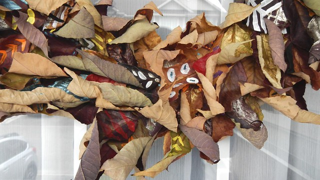 Fall Leaf Wreath 36