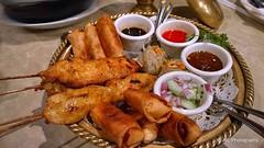 Appetizer Tray - Thai sampler