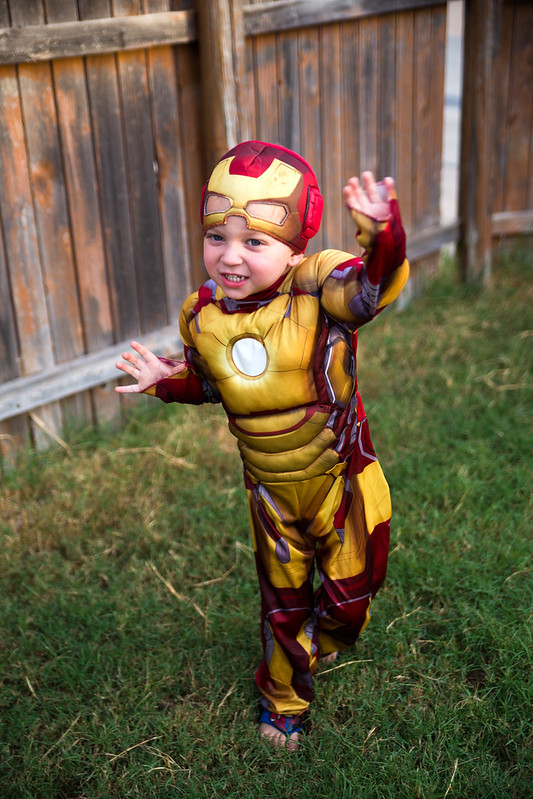 Iron Man Toddler Costumes