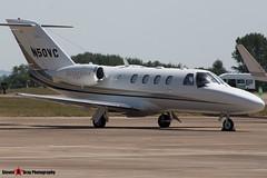 N50VC - 525-0609 - Private - Cessna 525 Citation CJ1+ - Fairford RIAT 2006 - Steven Gray - CRW_1638