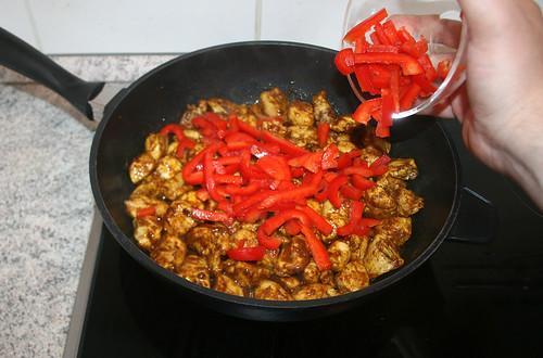 27 - Paprika hinzufügen / Add bell pepper