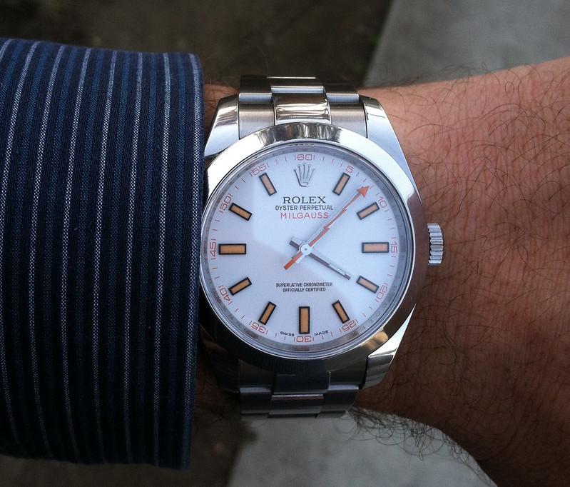 Rolex Milgauss White