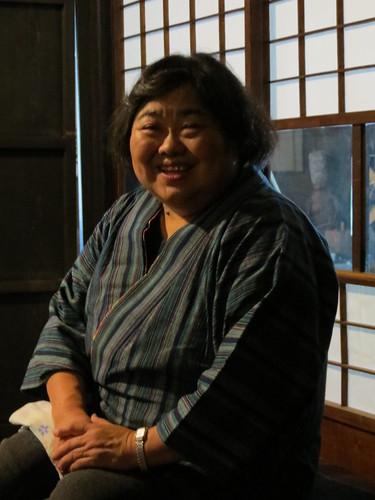 Storyteller at Denshoen