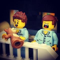 Sleepyheads #LEGO