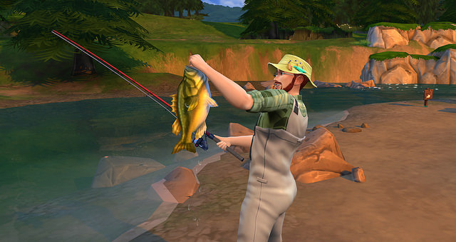 The Sims 4 Fishing Skill 3
