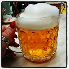 It's beer o'clock. Skumt öl! ;-) #Prater #Wien #Vienna
