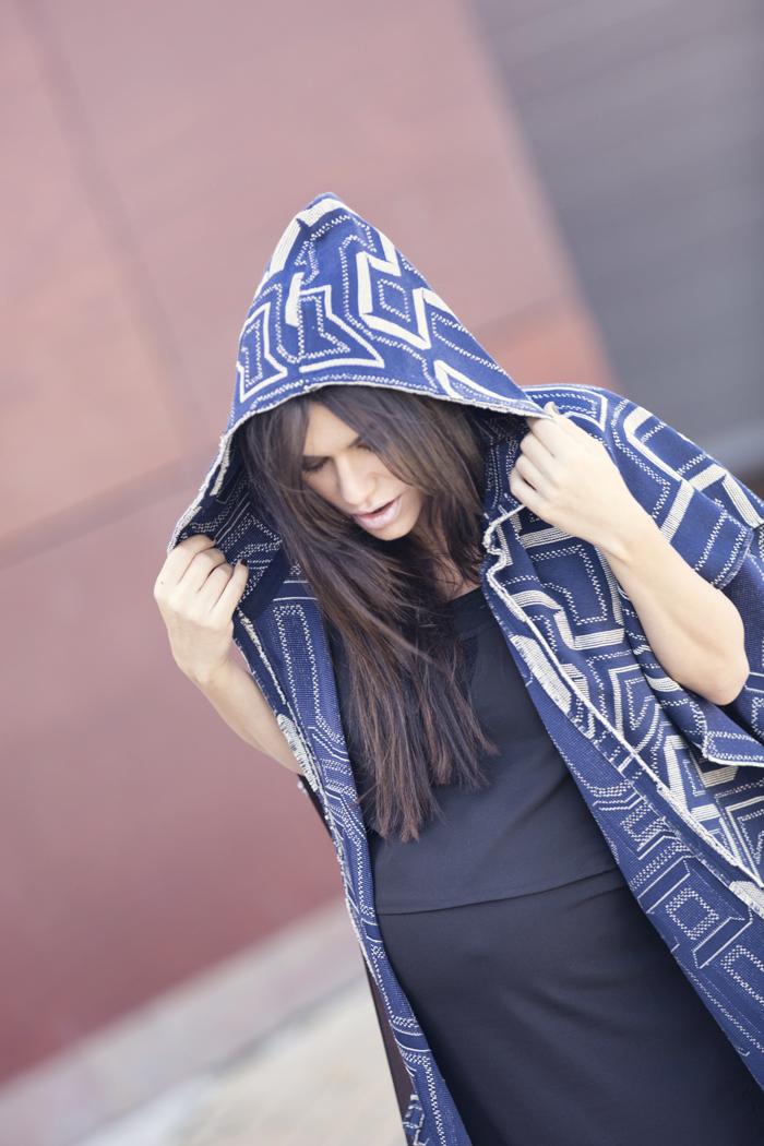 street style barbara crespo andean jacket hakei bag sendra fashion blogger outfit blog de moda