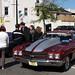 maroon Chevy Chevelle / Malibu SS