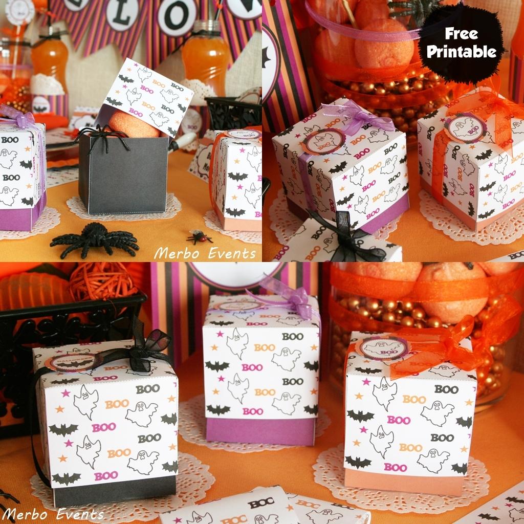 Cajas halloween imprimibles