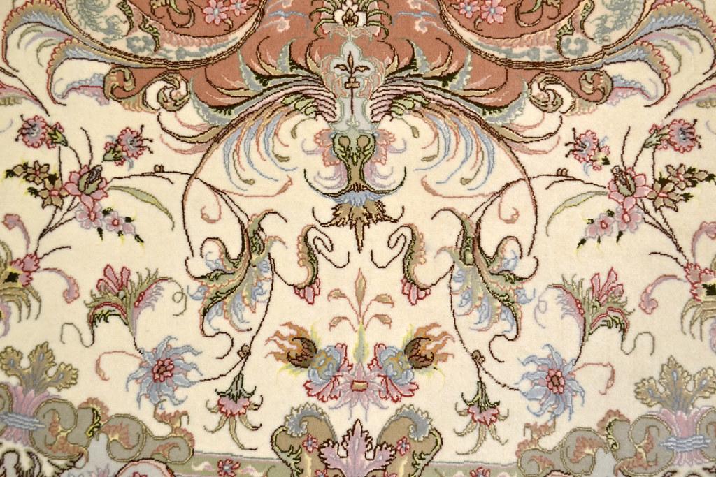 Tabriz Oval 7x10 Persian Rug