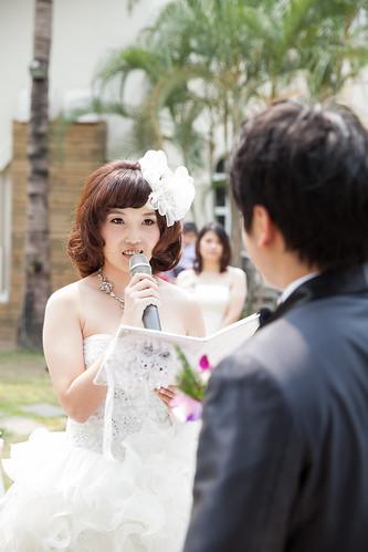台南商務會館-一般戶外證婚儀式 (7)