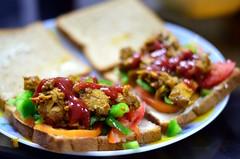 Chicken Masala Sandwich