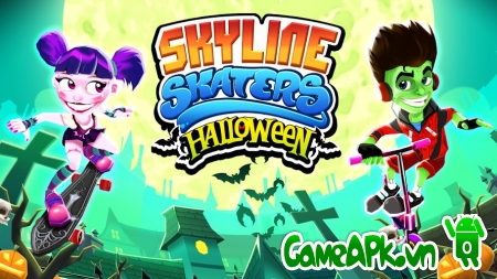 Skyline Skaters v1.4.3 Hack Full Coins & Cash Cho Android