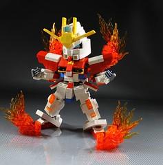 Build Burning Gundam
