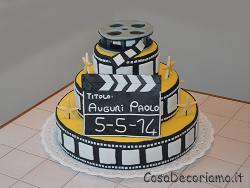 Torte - 36 - Torta cinema