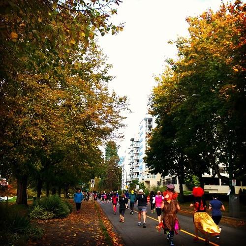 Rock 'n' Roll Oasis Vancouver Half Marathon and Cunningham Seawall 10K benefiting the John Volken Academy . #marathon #seawall #oasis #johnvolken #frenweh #wanderlust #travel #foodie #foodporn #vagabond #explorer #traveler #passport #grateful #entrepreneu