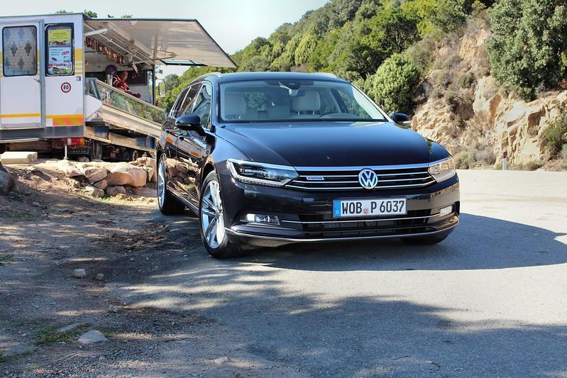 2014-10-23/24 VW Passat 8 - Sardinien Fahrveranstaltung