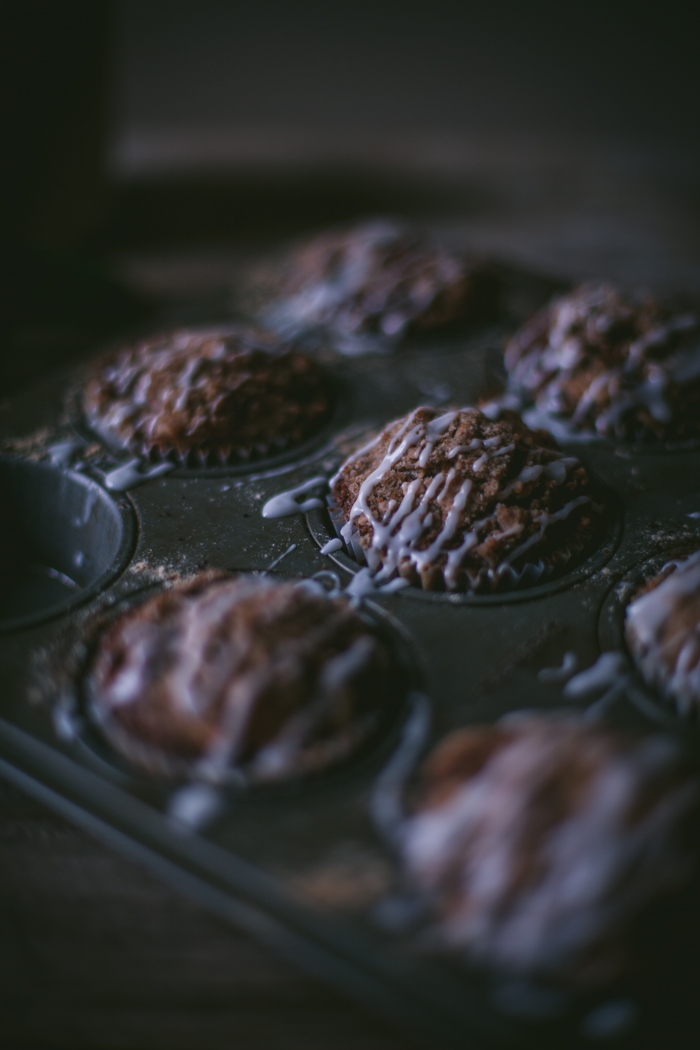 Apple & Cream Cheese Crumb Muffins by Eva Kosmas Flores   Adventures in Cooking