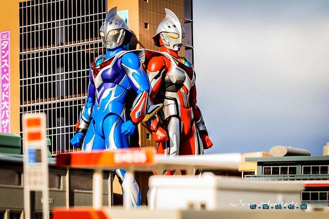 【玩具人Jono Heartarts投稿】 Ultra Act 超人力斯 Nexus - 英雄 x 青澀果實特集!