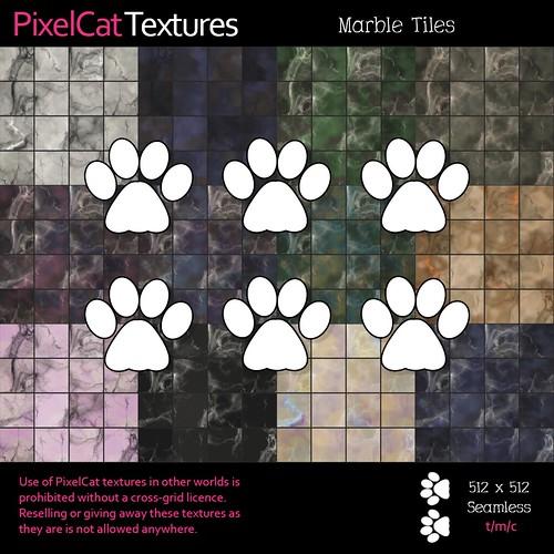 PixelCat Textures - Marble Tiles