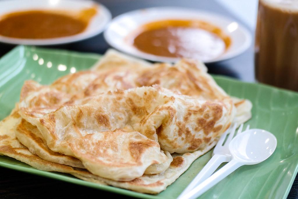 AMK Hub Food: Prata Raya's roti prata