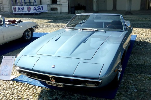 Maserati Ghibli 4.7 spider 1969