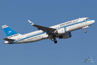 F-WWBY // 9K-AKE Kuwait Airways Airbus A320-214 - cn 6350