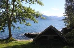 Boathouse on Hardangerfjord