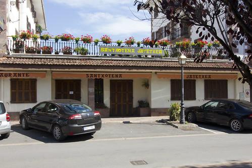 Restaurante Santxotena, Elizondo