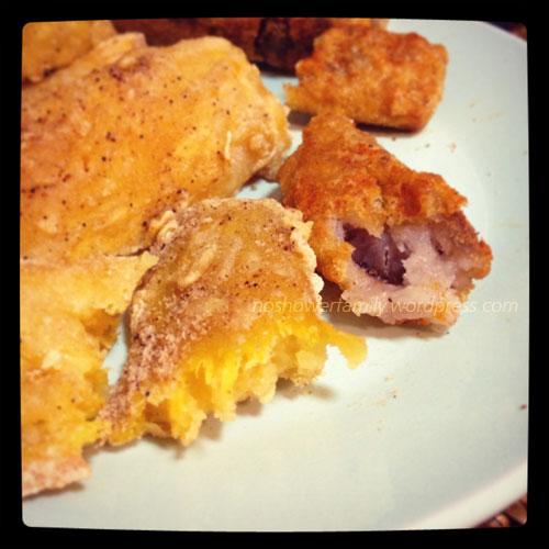 Fried yam, fried taro